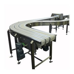 Three-Lane-Side-Flexing-Conveyor-running